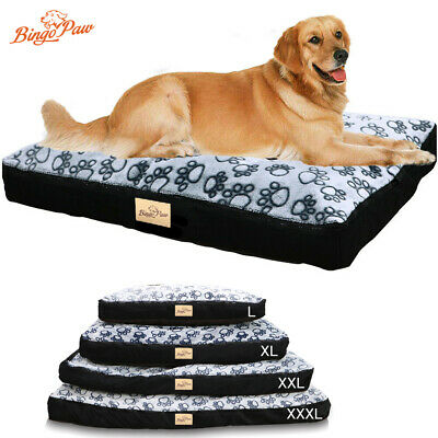 $49.91 • Buy Waterproof Jumbo XL Pet Bed For Large Dog Orthopedic Mattress W/ Removable Cover