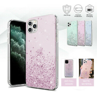 AU8.49 • Buy Glitter Shockproof Slim Case Cover Luxury For Apple IPhone 11 Pro Max XS XR 8 7P