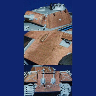 EDUARD 35487 1/35 Photo-Etched ZIMMERIT For DRAGON PANTHER Ausf.A EARLY • 8.40£