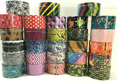 $4.99 • Buy Duct Tape Rolls Pattern Designs Novelty Fun QUARANTINE Crafts Wallet YOU CHOOSE