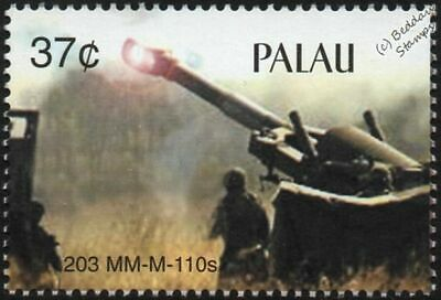 $2.75 • Buy US Army 8-inch 203mm M110 Self-Propelled HOWITZER Artillery Stamp Iraq Gulf War