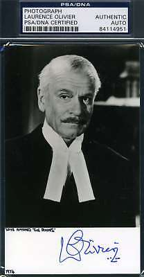 Laurence Olivier Psa Dna Coa Hand Signed Authentic Photo Autograph • 71.08£