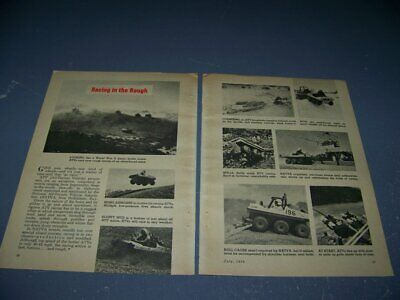 AU5.07 • Buy 1970 Atv  6-wheeler  Racing In The Rough..history/details/photos..(201w)