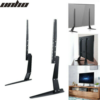 Universal TV Stands LCD LED Table Pedestal Monitor Riser For 22 -55  Samsung LG • 15.92£