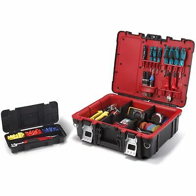View Details Keter Technician Portable Tool Box Organizer For Small Parts & Hardware Storage • 34.91$