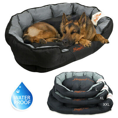 $39.93 • Buy Overstuffed Sofa Dog Bed Extra Large Waterproof Crate Pet Bed Washable Cover XXL