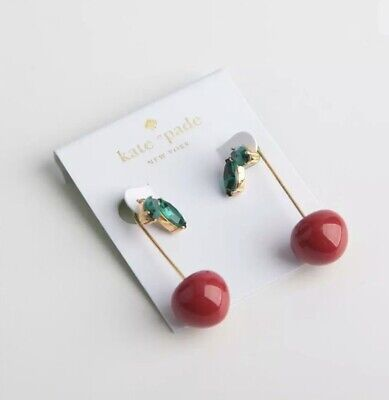 $ CDN95.55 • Buy Kate Spade New York Cherry Threader Earrings