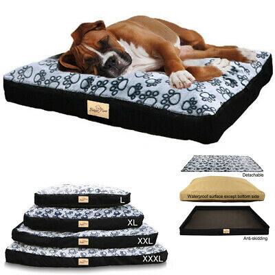 $49.93 • Buy Waterproof Large Dog Pet Bed Non-slip Home Cushion Matterss Bed W Washable Cover