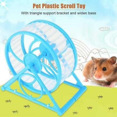 Hamster Exercise Ball Wheel Running Wheel Toy Sports Gift Rodent  Cage Ladder  • 3.40£