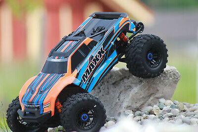 AU1076.84 • Buy Traxxas 89076-4 Orange Maxx Vxl 4S 4x4 Brushless With Tsm New IN Boxed 1:10