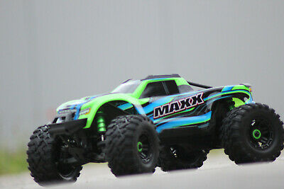 AU1074.32 • Buy Traxxas 89076-4 Grn Green Maxx Vxl 4S 4x4 Brushless With Tsm New IN Boxed 1:10