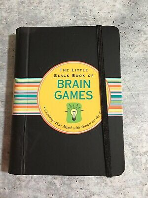 $9.77 • Buy The Little Black Book Of Brain Games (Brain Teasers) : Challenge Your Mind... HC