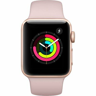 $ CDN185.05 • Buy Apple Series 2 38mm Smartwatch - Rose Gold / Pink Sand (MNNY2LL/A)