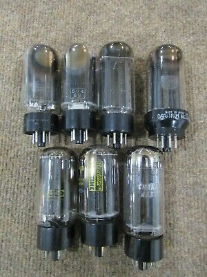 $ CDN32.22 • Buy Lot Of 7) 5U4GB Vacuum Tubes Made In Japan ~ Used Tested Strong