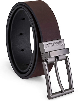 $27.60 • Buy Timberland Boys Reversible Leather Belt For Kids
