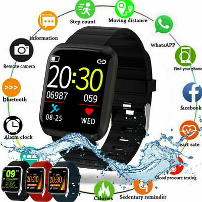 AU21.99 • Buy Waterproof Bluetooth Smart Watch Heart Rate Monitor Wristband For IOS/Android
