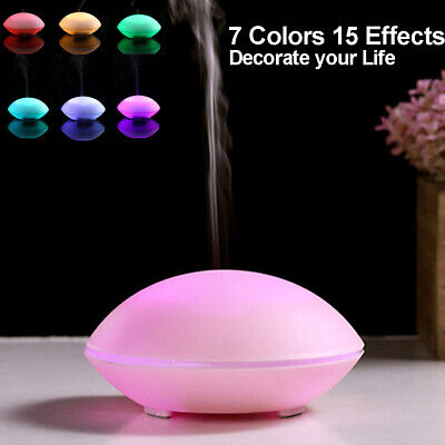 AU14.99 • Buy USB Air Diffuser Aroma Oil Humidifier LED Night Light Up Home Relax Defuser-Pink