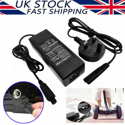 42V 2A UK Plug Charger Power Adapter For Segway/Hoverboard Balance Board Fast • 9.99£
