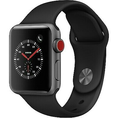 $ CDN314.77 • Buy Apple Series 3 42mm GPS+Cellular Smart Watch - Space Gray (MTGT2LL/A)