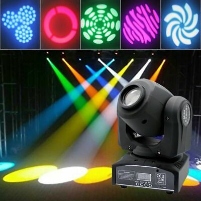 30W Spot GOBO Moving Head Stage Light RGBW DMX DJ LED Lighting Disco Party Decor • 65.99£