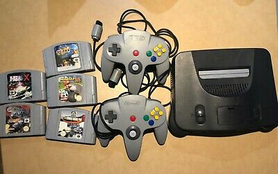 AU350 • Buy Nintendo N64 Console Controllers And Games