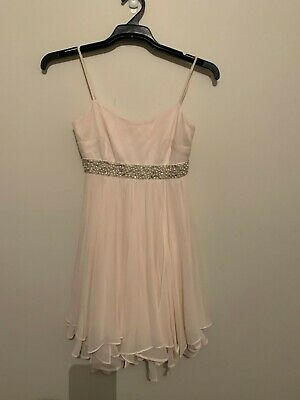 AU20 • Buy Womens FOREVER NEW Stunning Light Apricot Strapless Dress - Size 6