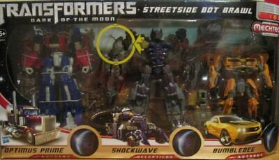 Transformers Dark Of The Moon Exclusive Streetside Bot Brawl Rare Collectible • 174.99£
