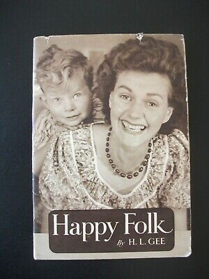 Happy Folk By H. L. Gee ~ The Everyday Series • 7.95£