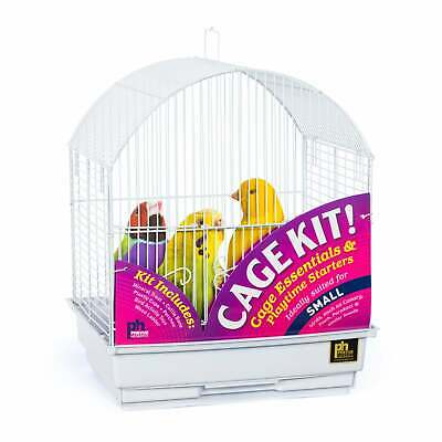 $56.99 • Buy Prevue Pet Products Round Roof Bird Cage Kit 91102 White