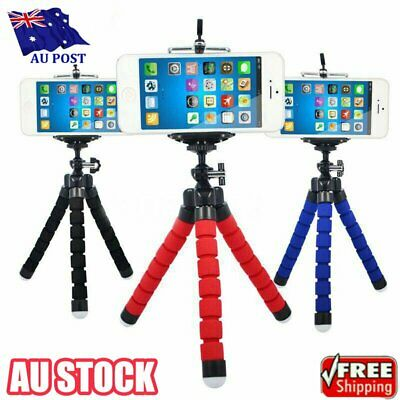 AU9.53 • Buy Mobile Phone Tripod Flexible Octopus Camera Holder Mount Stand IPhone Android HA