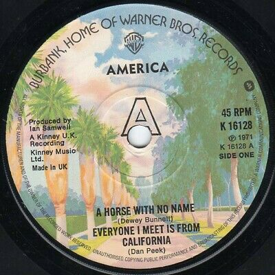 America  - A Horse With No Name (7 , RE, Sol) • 7.99£