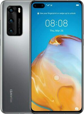 Huawei P40 Pro 256GB Dual-Sim Silver Smartphone Without Simlock - Top Condition • 495.86£