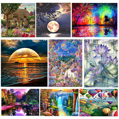 Diamond 5D Painting Embroidery Cross Craft Stitch Pictures Arts Kit Mural Decor • 4.98£