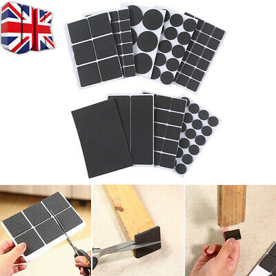 Non Slip Self Adhesive Floor Protectors Chair Leg Pads Table Rubber Pads Feet A • 0.99£