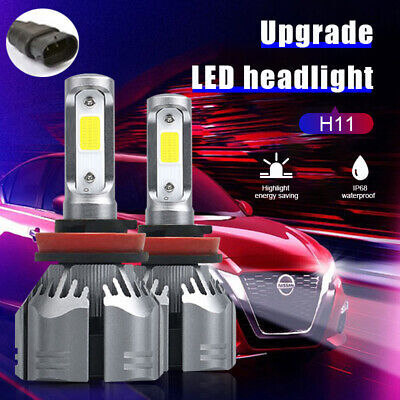 AU22.41 • Buy 2x High Power H8/H9/H11 110W 26000LM LED Headlight Globe Beam Bulbs 6500K White