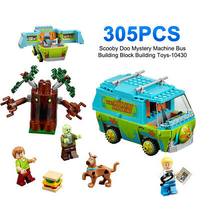 £18.99 • Buy Scooby Doo Mystery Machine Bus Building Block Figures Toy Gift-10430 305Pcs