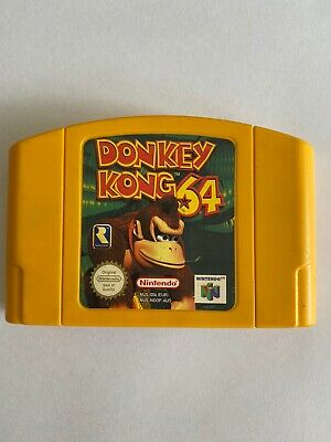 AU75 • Buy Donkey Kong N64 Game Used, Great Condition  PAL Region