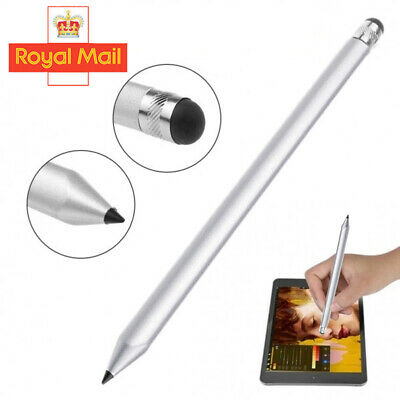Touch Screen Stylus Pencil For Tablet IPad Phone Samsung PCCapacitive Pen Silver • 3.95£