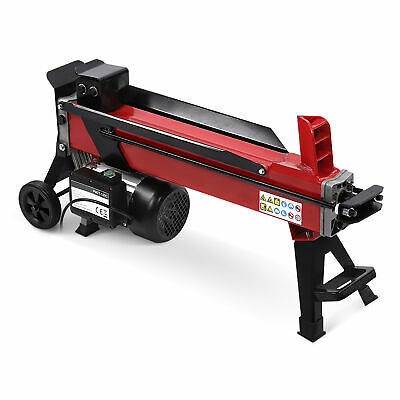 Log Splitter 7 Ton Fast Electric Hydraulic Wood Timber Cutter 2200w 220v Motor • 324.99£