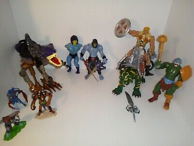 $80 • Buy 200x Mattel Masters Of The Universe Skeletor MOTU 9 Figure LOT /w Accessories