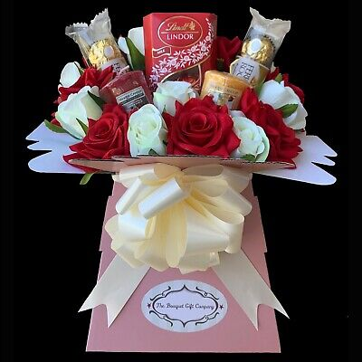 Chocolate And Yankee Candle Handmade Gift Bouquet • 26.99£