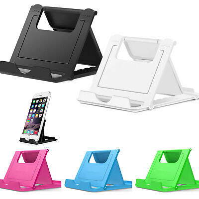 $3.49 • Buy Desk Office Phone Universal Stand Mount Dock Durable Folding For Cell Phones