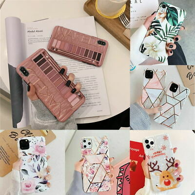 AU9.45 • Buy For IPhone 11 Pro Max XR XS MAX 7 8 PLUS Soft Case Marble Silicone Cover
