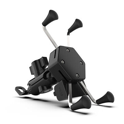 AU16.99 • Buy Universal Motorcycle Scooter Mobile Phone Holder Mount Bracket X Grip Clamp