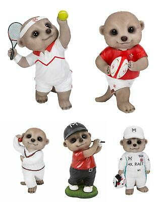 £22.99 • Buy Vivid Arts Baby Meerkat Resin Ornaments Sports Fathers Day Dad F1 Cricket Golf