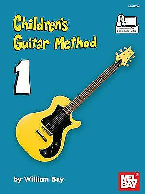 Children's Guitar Method Volume 1 Book With Online Audio And Video Guitar Willia • 9£