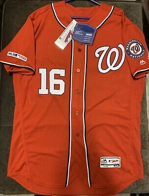 $240 • Buy Majestic FlexBase Washington Nationals Authentic 2019 Victor Robles Jersey - 48