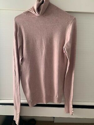 AU10.50 • Buy Zara High Neck Knit With Pearl Buttons Size M - Never Worn