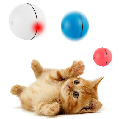 AU13.89 • Buy Pet Toys LED Laser Rolling Ball Dog/Cat 360 Degree Self Rotating Interactive Toy
