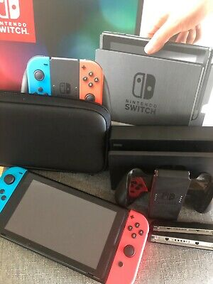 AU570 • Buy Nintendo Switch 32GB Neon Blue/Neon Red Console